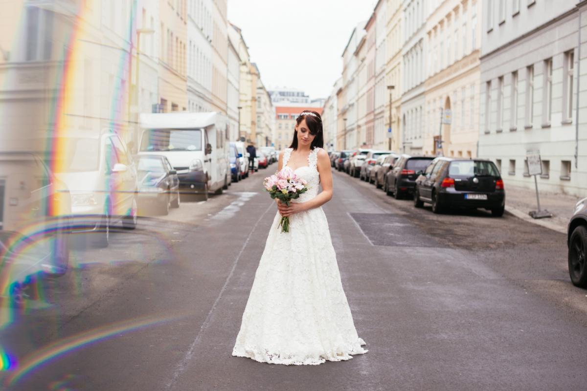 Styled Shoot Berlin BeJulicious Seideko Braut