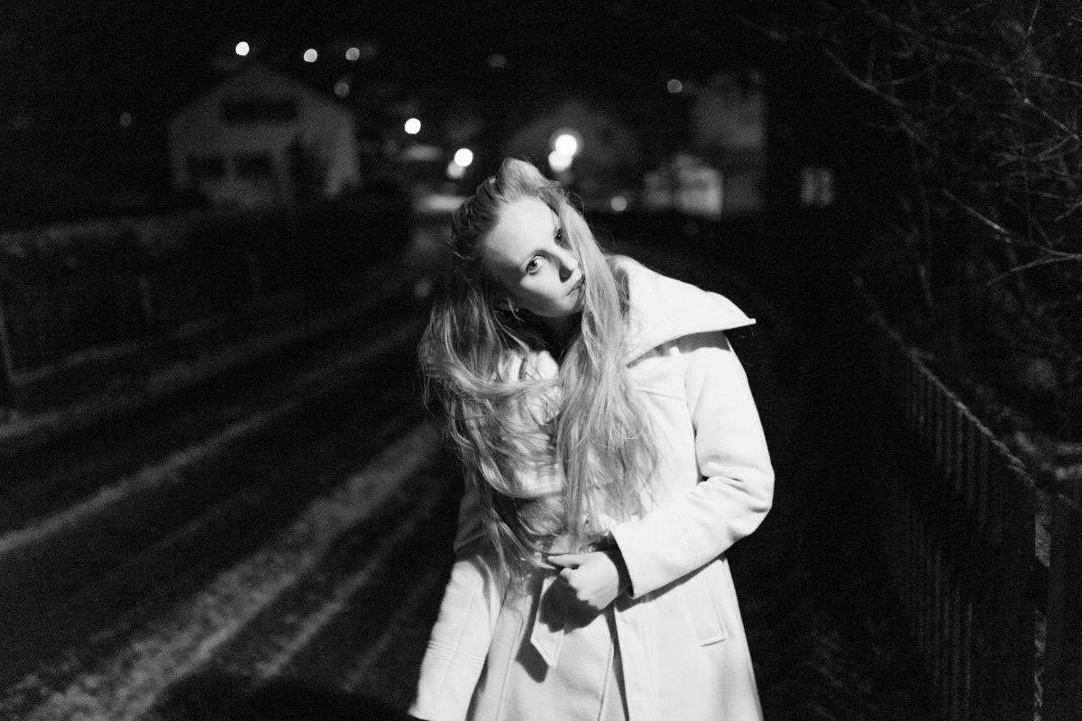 Nachts Portrait