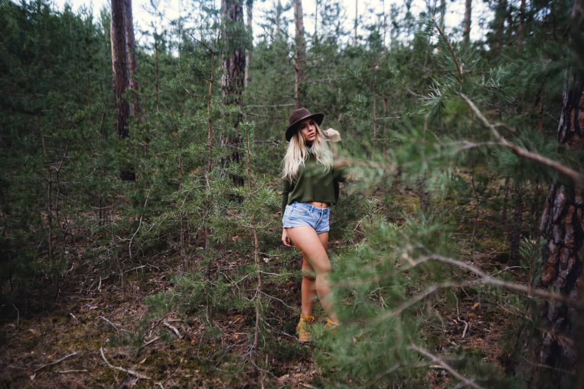 Wald Model Potrait Shooting Fotograf MeetUp