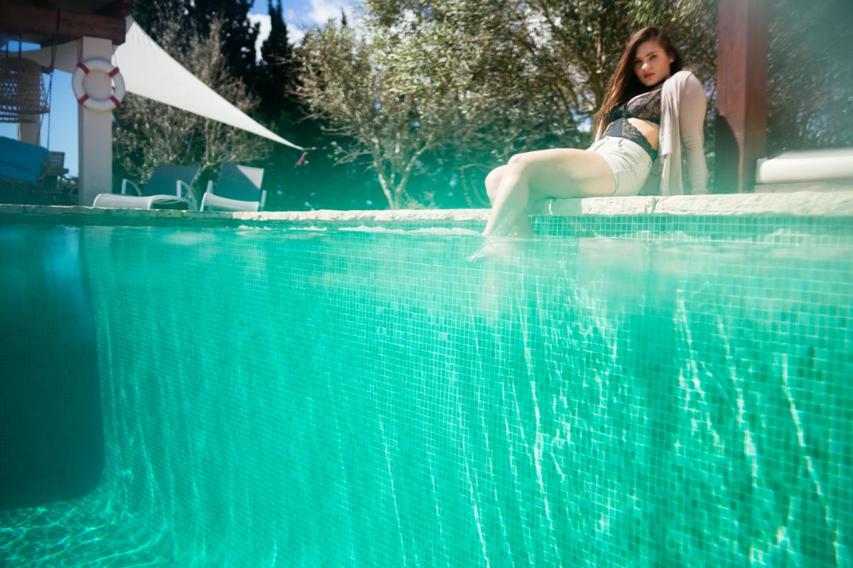 Pool Mallorca Spanien