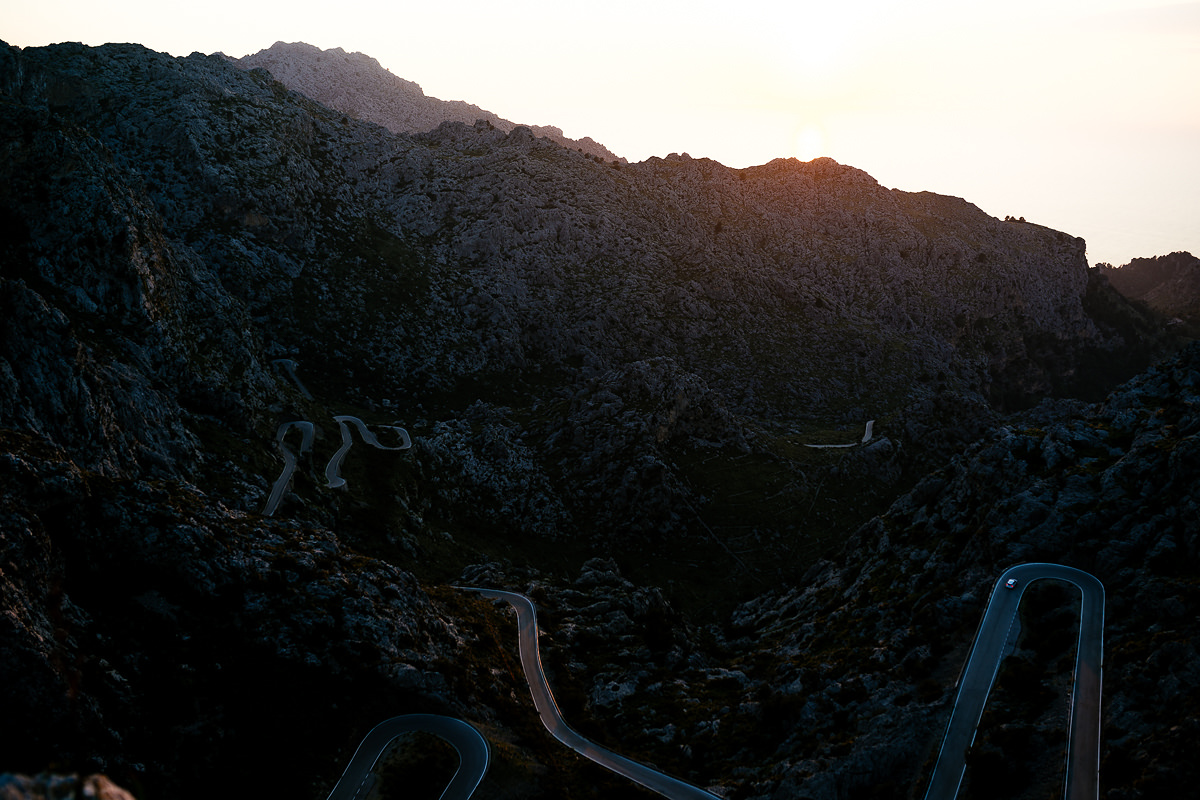 RoadTrip Mallorca Shooting Sonnenuntergang