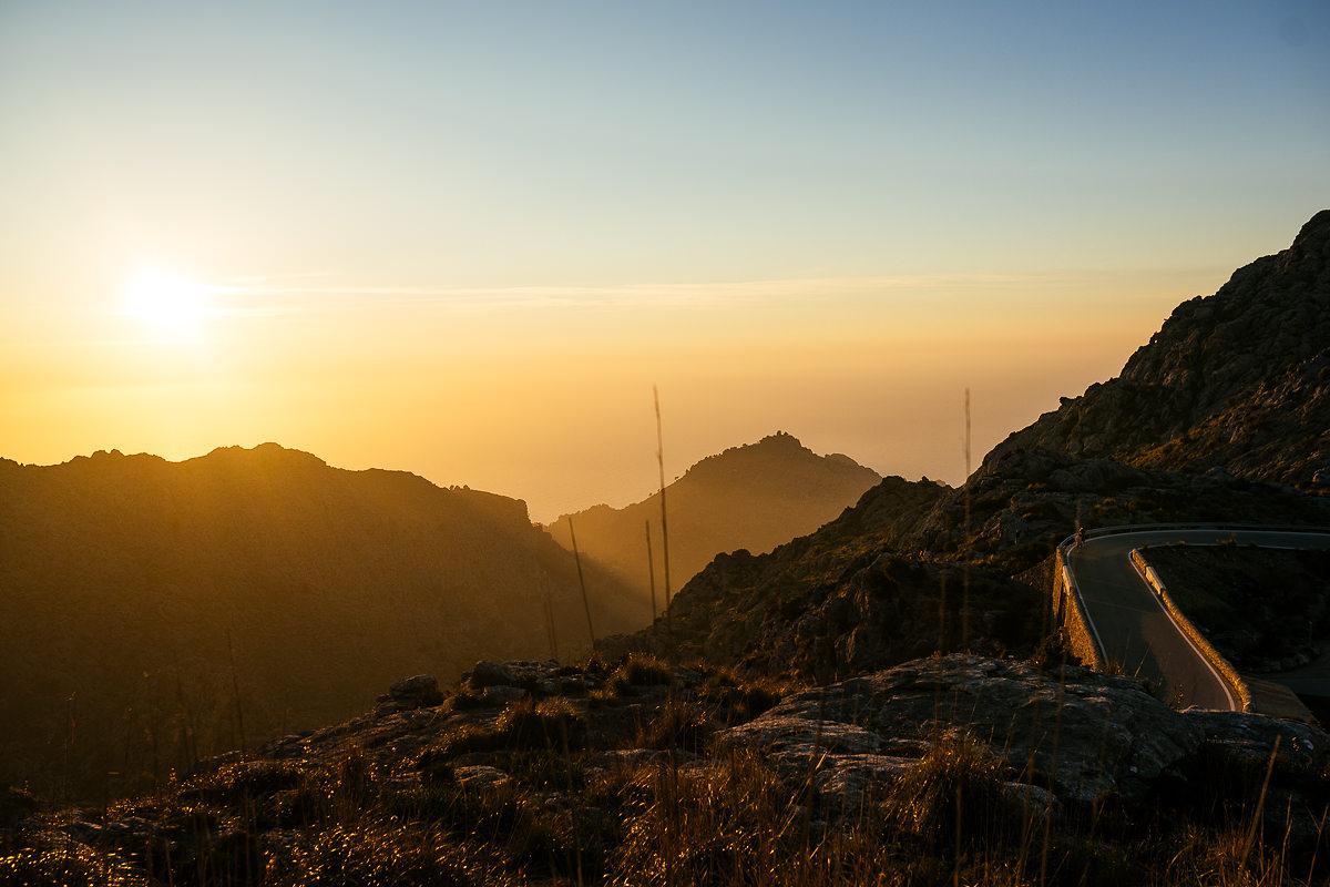 RoadTrip Mallorca Shooting Sonnenuntergang