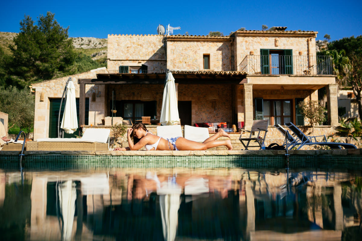 Finca Spanien Mallorca Pool