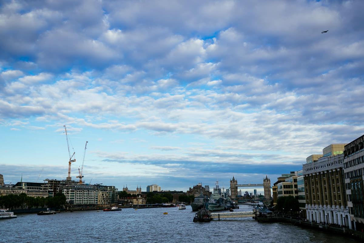 London Landschaft England Themse