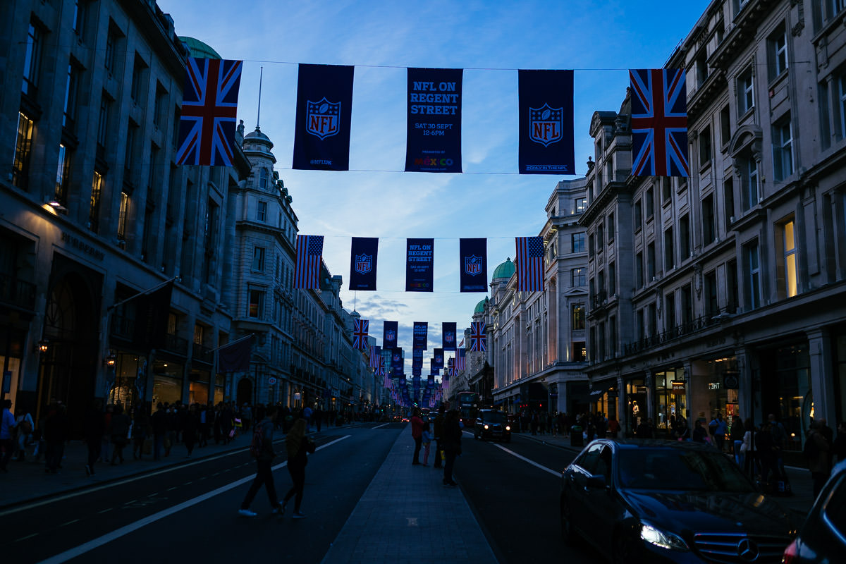 London England Regent Street