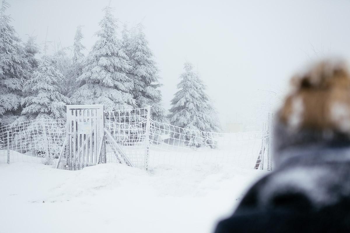 Harz Braunlage Wurmberg Schnee Winter Frost