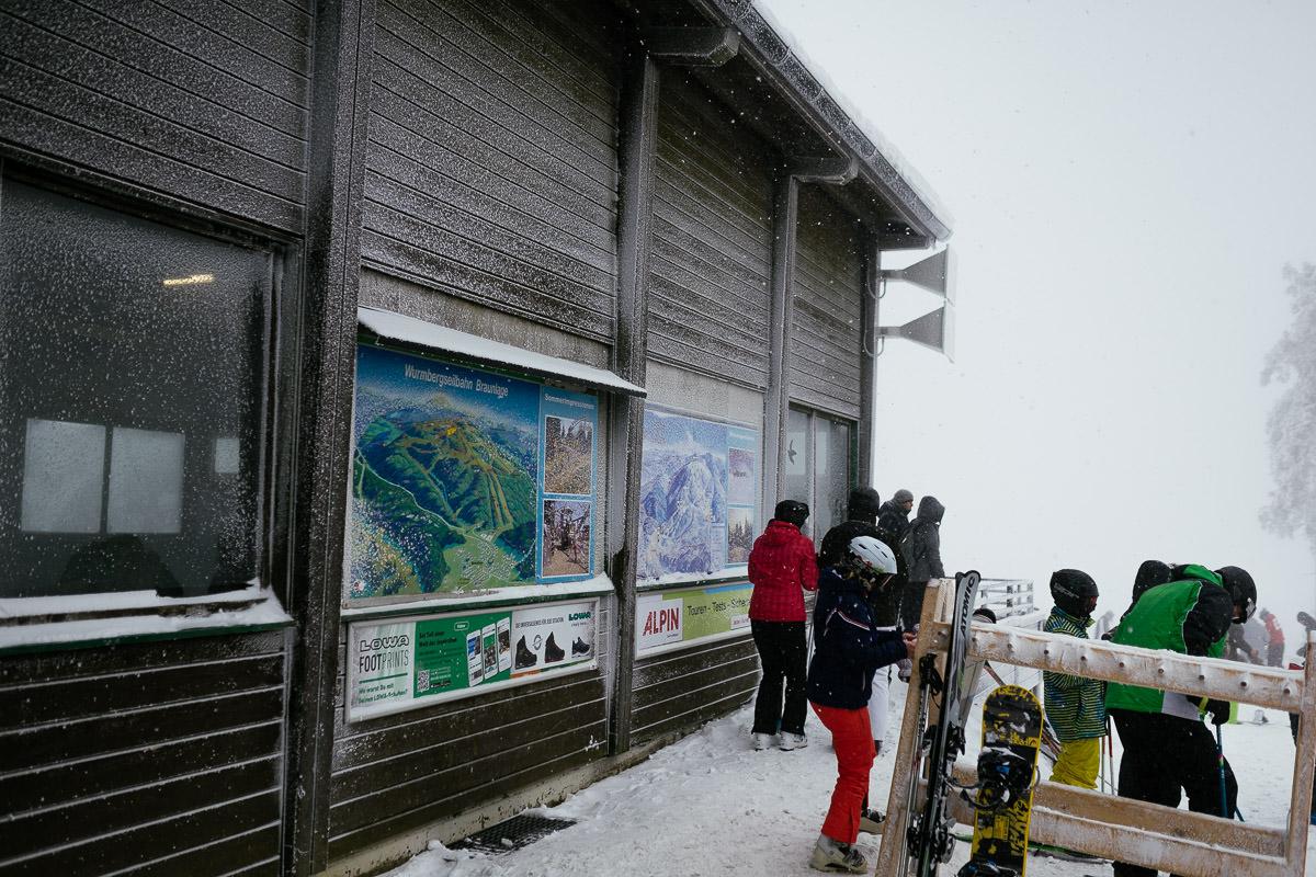 Harz Braunlage Wurmberg Schnee Winter Ski