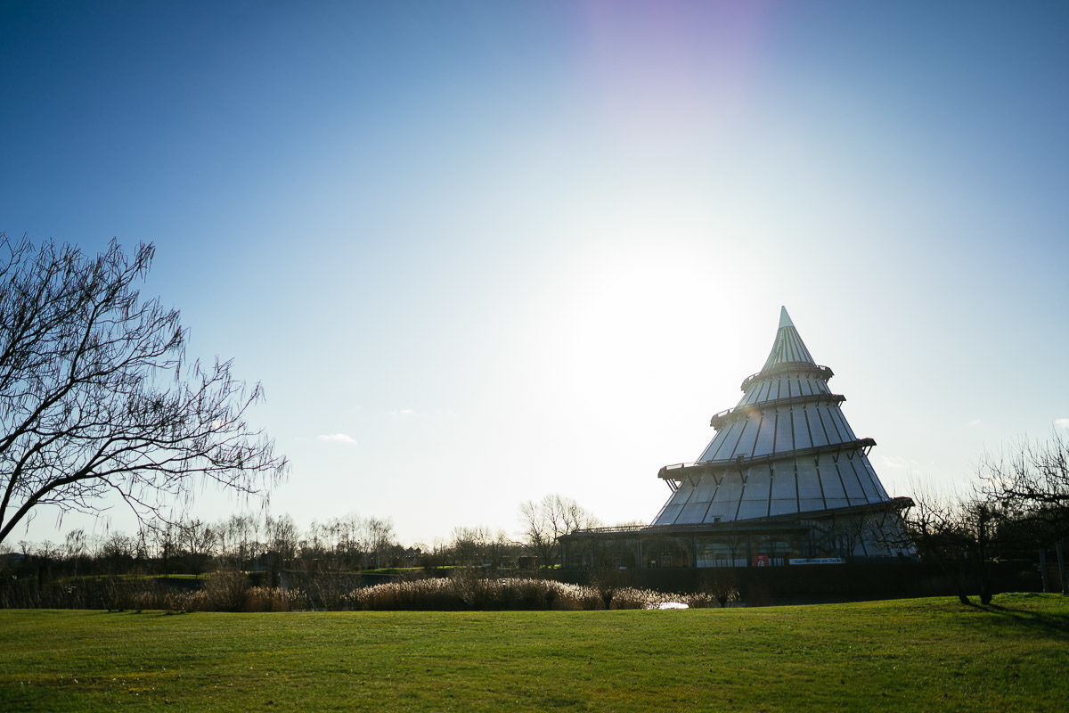 Elbauenpark Magdeburg Jahrtausendturm
