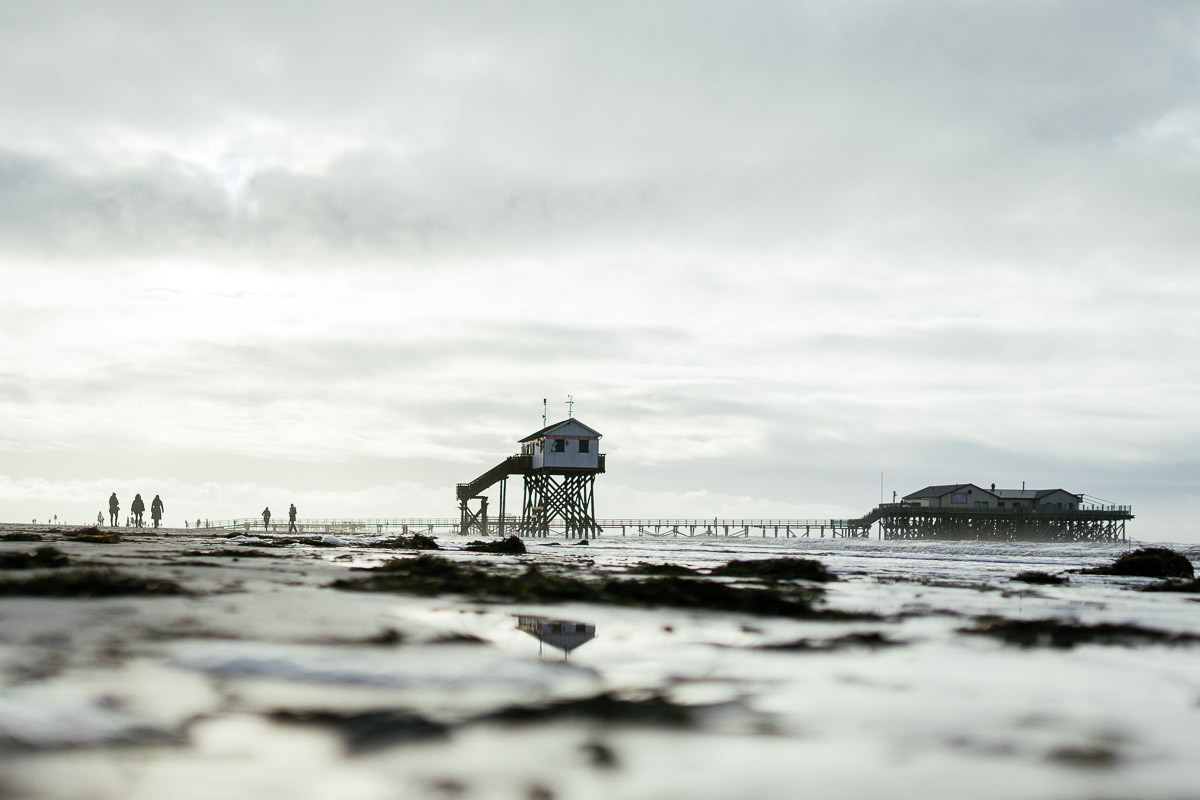 Nordsee Wattenmeer St Peter Ording